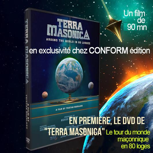 DVD TERRA MASONICA : Découvrir la franc-maçonnerie dans le monde en 80 loges > un Film de 90 mn